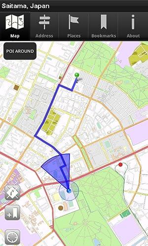 『オフラインマップ 埼玉県、日本 - CNM』の6枚目の画像