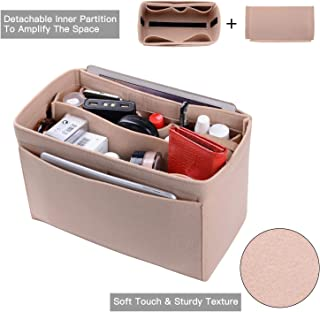 Purse Organizer, Felt Bag Organizer Insert For LV Speedy, Neverfull, Tote, Handbag,Shaper 6 Colors 3 Sizes