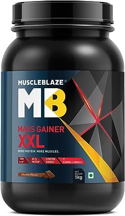MuscleBlaze Mass Gainer XXL - 1 kg (Chocolate)