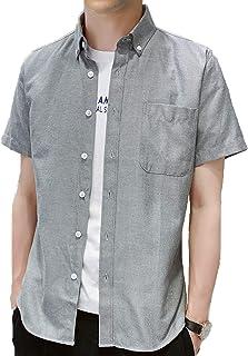 J.STORE [ジェイストア] amスリムフィットオックス メンズ シャツ カラー ボタン付き amスリムフィットオックスシャツ