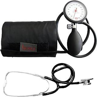 Tiga-Med Boso K 1 - Tensiómetro de brazo con estetoscopio de doble cabezal, color negro