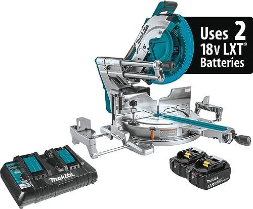 "wholesale Makita XSL07PT online 18V x2 sale LXT Lithium-Ion (36V) Brushless Cordless 12"" Dual-Bevel Sliding Compound Miter Saw with Laser Kit (5.0Ah) online sale"