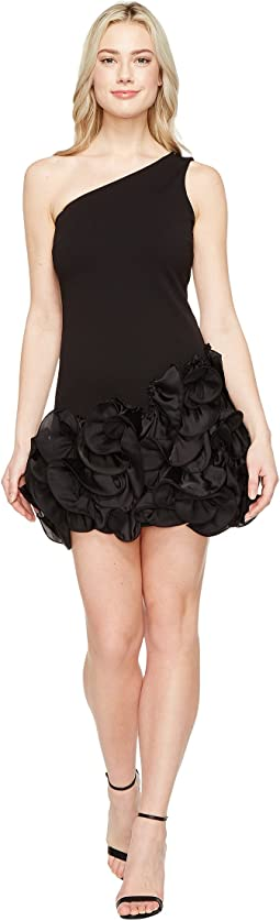 Jessica Simpson - One Shoulder Ruffle Hem Dress
