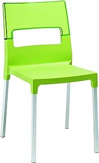 Scab Silla Diva Verde Pistacho+Transparente Verde
