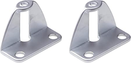 Gedotec vouwdeurmontage Greepadapter voor het vastschroeven aan de binnenzijde van de deur | Vouwdeurkruk voor deurdikte 2...