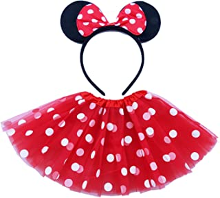 Danballto Princess Costume Birthday Party Fancy Dress Up for Girls with Accessories 2-10 Years
