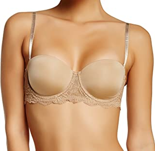 289c60442c Calvin Klein Women s Seductive Comfort Custmized Lift Bra Strapless Bra