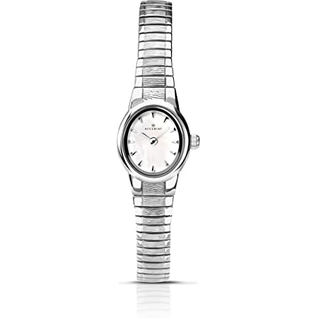 Accurist Womens Analogue Classic Quartz Watch with Stainless Steel Strap 8051.01