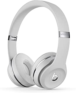 Beats by Dr. Dre - Beats Solo3 Wireless On-Ear Headphones - (Satin Silver) (Renewed)