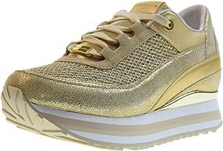 autorización oficial APEPAZZA Zapatos Mujer Mujer Mujer Zapatillas Bajas con cua Interna RSD27   GLITTERNET Robin oro  orden ahora disfrutar de gran descuento