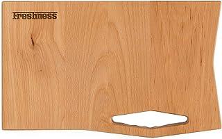 """Tabla de cortar""""FRESHNESS"""" en madera de haya"""