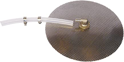 12 inch Stainless Steel False Bottom with Silicone Tubing