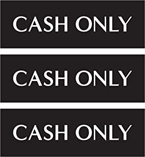 Best cash only signs Reviews
