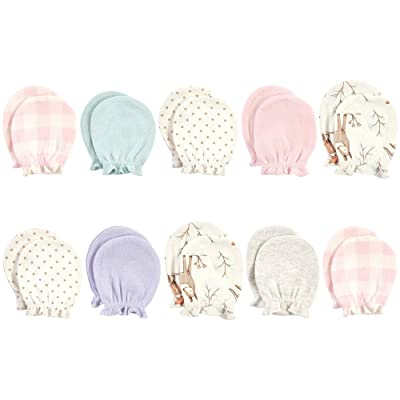 Hudson Baby Cotton Scratch Mittens (Infant)