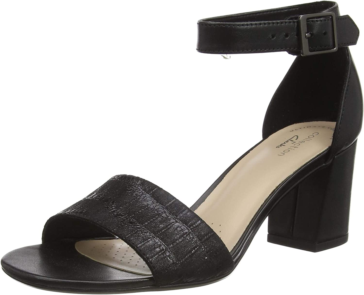 Max 41% OFF Luxury Clarks Women's Ankle Strap Sandals