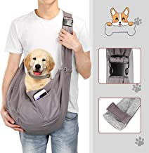 OWNPETS Pet Sling Carrier, Pet Sling Carrier Bag Safe,Fit 15~17lb Cats&Dogs, Comfortable, Adjustable, Perfect for Daily Wa...