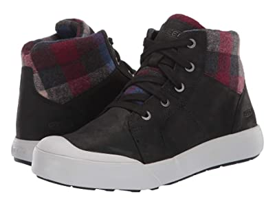 Keen Elena Mid (Black/Plaid) Women
