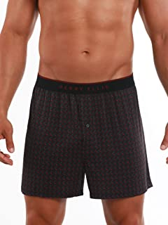 Perry Ellis Men's Luxe Button Fly Boxer Short