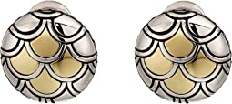 Legends Naga Button Earrings