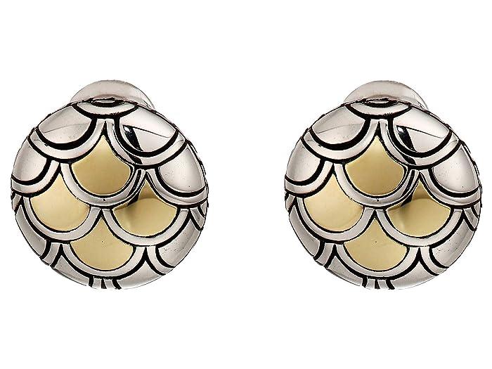 9286678754c6b John Hardy Legends Naga Button Earrings | Zappos.com