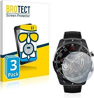 BROTECT Antireflecterende Glas Screenprotector compatibel met Mobvoi Ticwatch Pro 2020 (3 Stuks) - Anti-Glare Beschermglas...