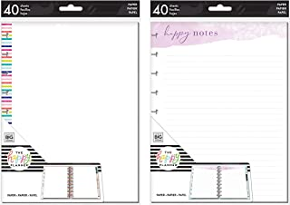me & My Big Ideas Create 365 Medium/Classic Note Paper Blank & Happy Notes (FIL-59 & FIL-77)