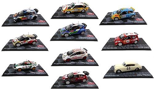 - 10 WRC 1 43 Ixo Rallye-Autos  Citroen Lancia Ford Audi Abarth Renault (BR  1-2-3-4-5-6-8-9 + AUR + C2)