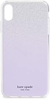 Kate Spade New York Glitter Ombre iPhone X Max Case, Frozen Lilac, Purple, Metallic, iPhone Xs Max