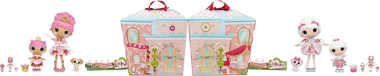 Lalaloopsy Sew Royal Princess Party (Large Multipack) - Suzette & Mimi La Sweet and Crumpet & Teacup Heart, Multicolor