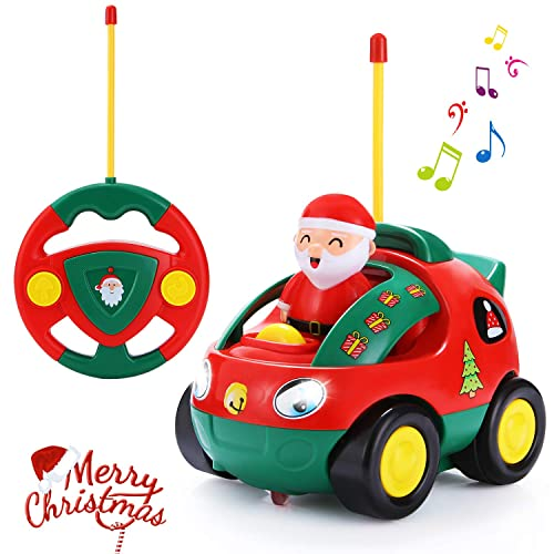 ANTAPRCIS Cartoon Remote Control Car Racer Toys For Toddlers Christmas Birthday Gift Present 3