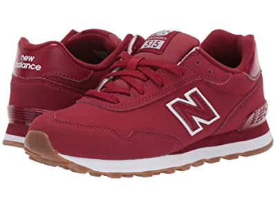New Balance Kids 515v1 Classic (Little Kid/Big Kid) (NB Scarlet/White) Boys Shoes