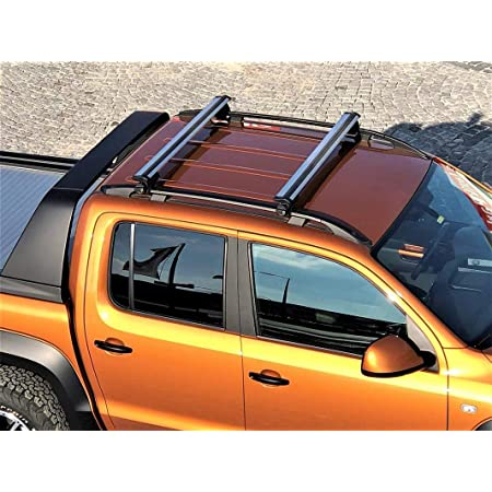 Dachträger Aero Für Vw Amarok Dachgepäckträger Ab Baujahr 2010 Aus Aluminium In Chrom 125 Cm Auto