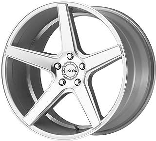 KMC KM685 20x8.5 5x4.5 35mm Silver/Machined Wheel Rim 20