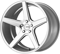 KMC DISTRICT SILVER MACHINED DISTRICT 20x8.5 5x114.30 SILVER MACHINED (35 mm) WHEEL
