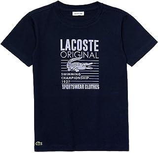 Kids Boys' Short Sleeve Graphic Jersey Cotton T-Shirt