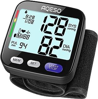 Blood Pressure Monitor Wrist Cuff - Accurate Automatic Digital BP Cuff Machine for Home Use, 5.3