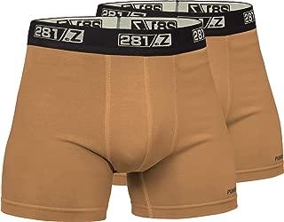 Military Underwear Cotton 4-Inch Boxer Briefs - Tactical Hiking Outdoor - Punisher Combat Line