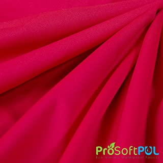 ProSoft Waterproof 2 mil PUL Fabric (Made in USA, Magenta, sold by the yard)
