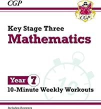 Scaricare Libri New KS3 Maths 10-Minute Weekly Workouts - Year 7 PDF