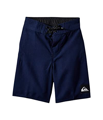 Quiksilver Kids Highline Kaimana 14 Boardshorts (Toddler/Little Kids) (Navy Blazer) Boy