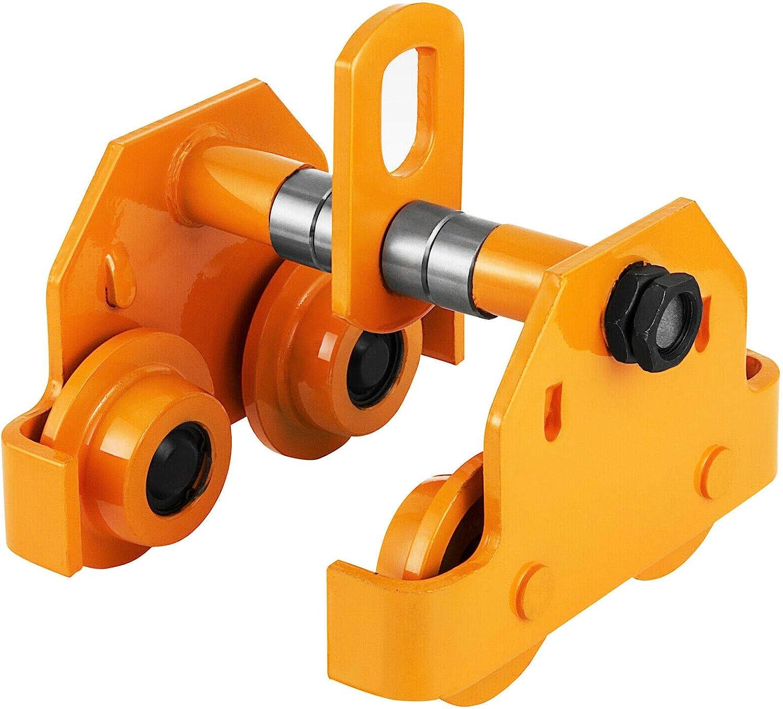 OrangeA 3 Ton Heavy Duty Manual Plain 6000LBS Trac Direct stock discount Capacity Super popular specialty store Push