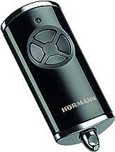 Hörmann Handzender HSE 4 BS (frequentie 868 MHz, garagedeuraandrijving met chromen doppen, batterijen, afmetingen 28x70x14...