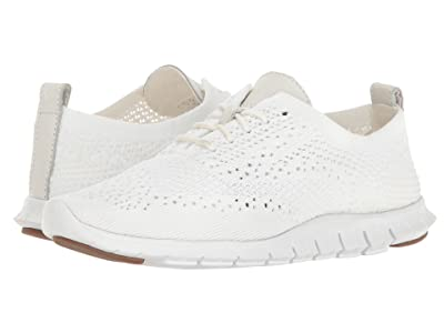 Cole Haan Zerogrand Stitchlite Oxford (Optic White Knit/Leather/Vapor Grey) Women