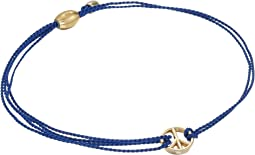 Alex and Ani Kindred Cord Peace Blue