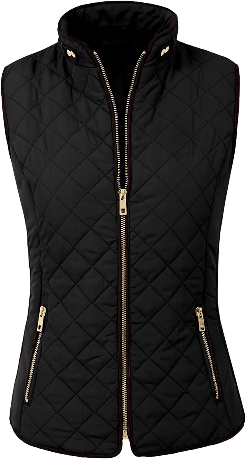 NE PEOPLE Womens Lightweight Quilted Padding Vest Up 5% OFF Free Shipping Cheap Bargain Gift Zip S Gilet