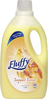 Fluffy Fabric Softener Conditioner Summer Breeze Long Lasting fragrance Made in Australia, 2L