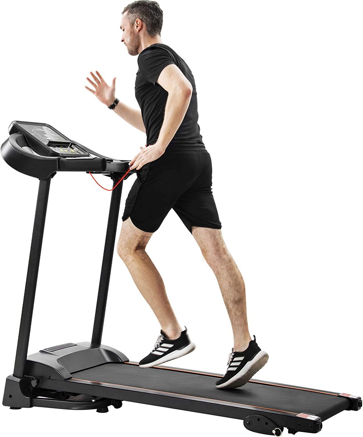 Modern Compact Electric Under blast sales Treadmill with Mail order Adjuster Home G Speed for