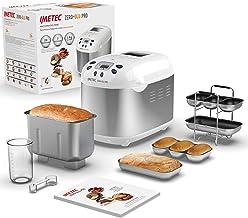 Imetec Zero-Glu Pro Broodmachine, pantoffels en broodjes, zonder gluten, voor pizza, pasta, snoep, jam, 20 programma's, 2 ...