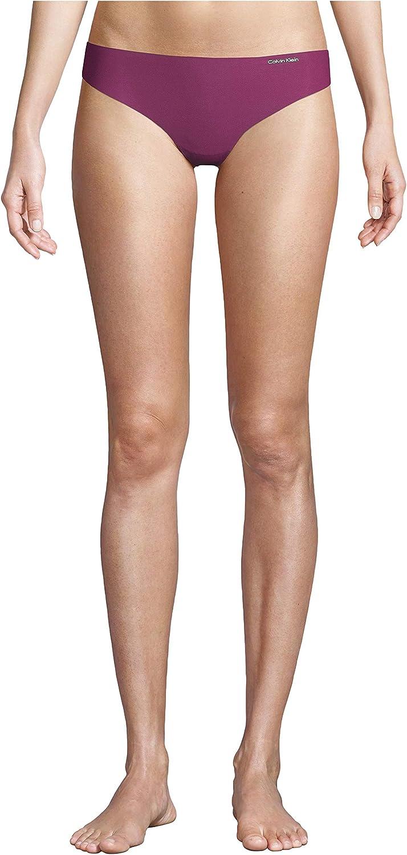 Calvin famous Klein Women's Line Invisibles Thong-Panty Bargain