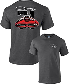Dodge 71 Charger Adult T-Shirt